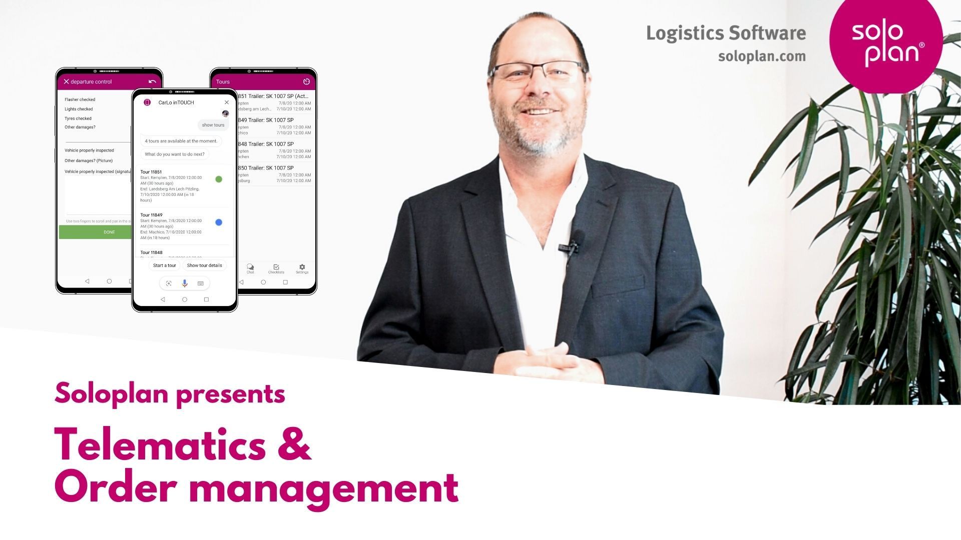 Telematics system & Order management
