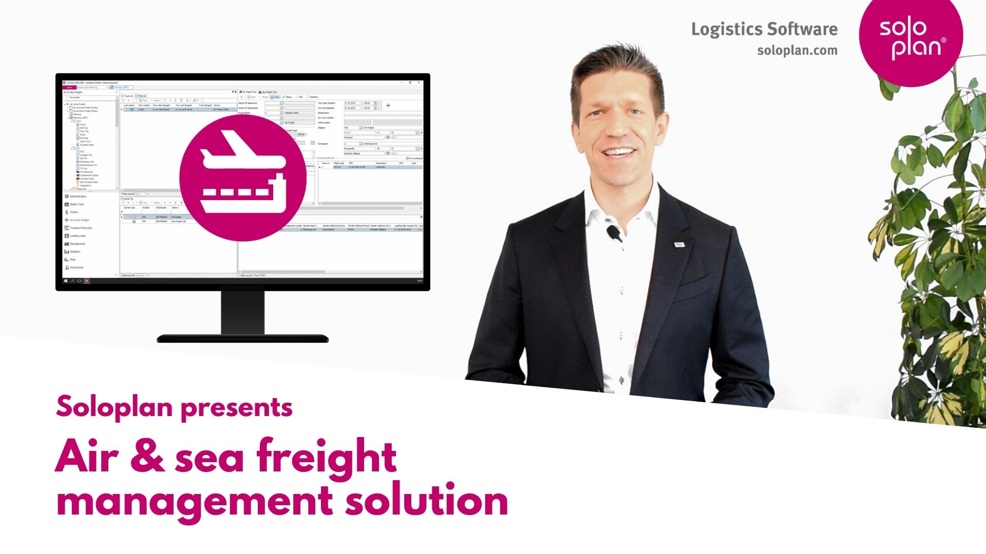 Air & sea freight management solution