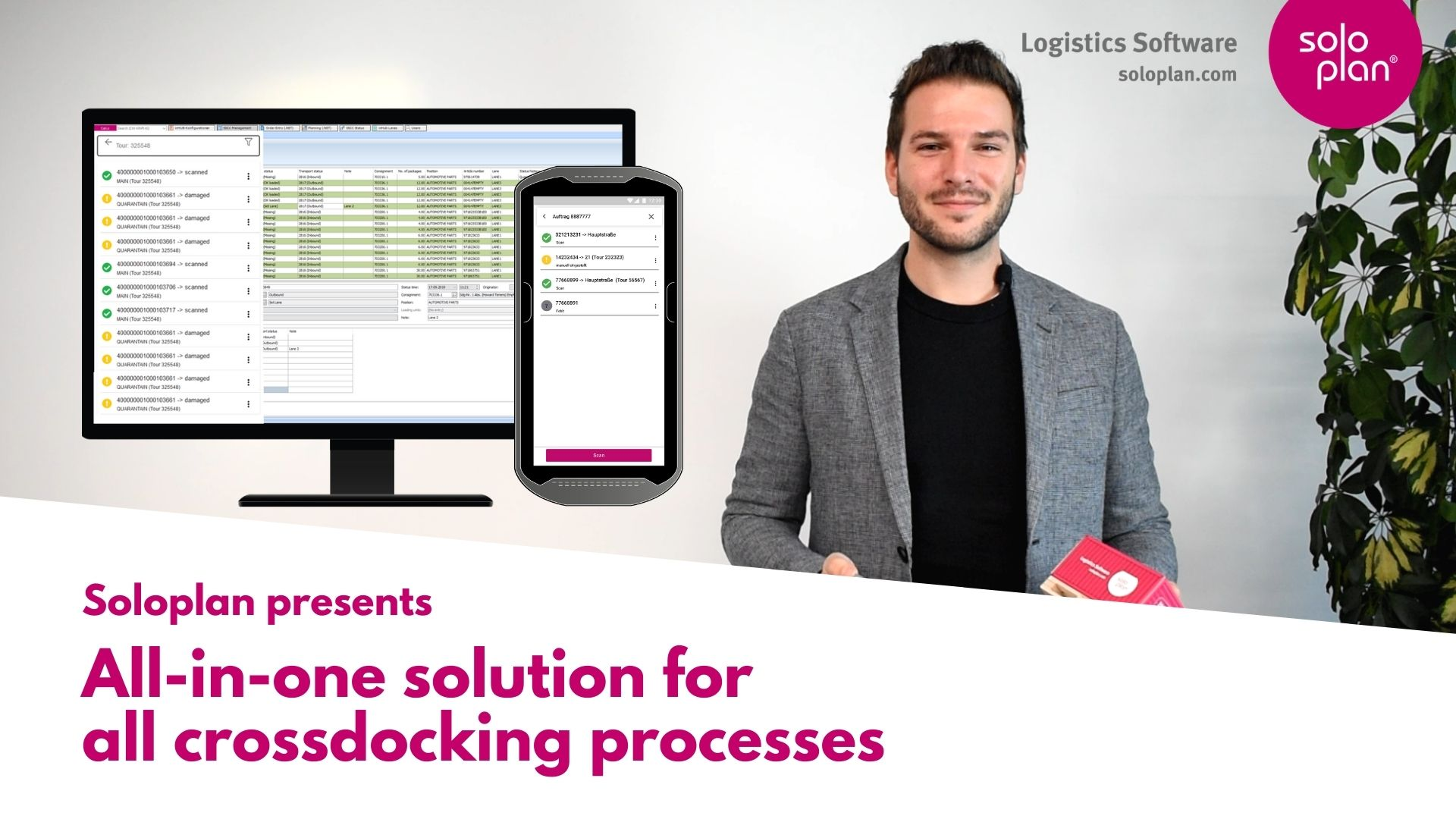 The complete solution of all CrossDocking processes