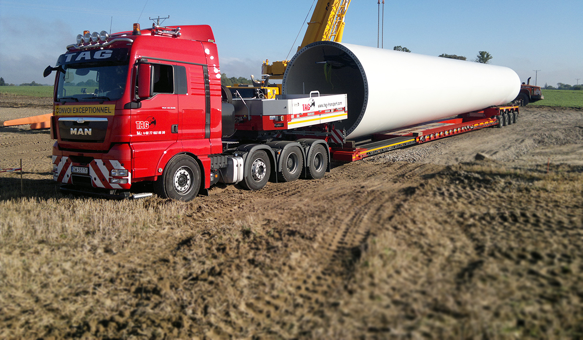 TAG Spezialtransporte & Projektlogistik