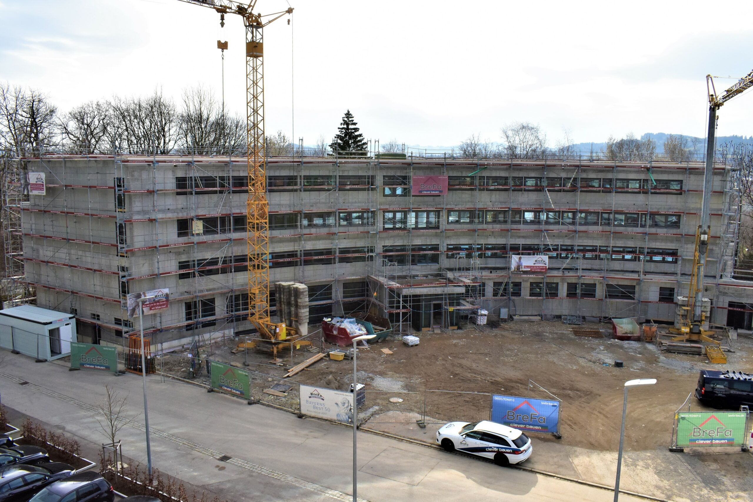 Construction in fast forward from May 2020 to January 2021